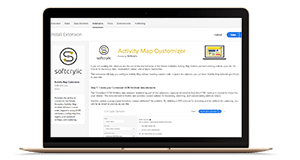 activity map customizer