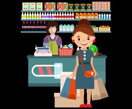 Retailer in store customer exp